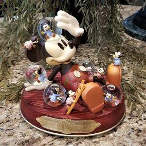 Disney Mickey's Nightmare Musical Snow Globe 1932